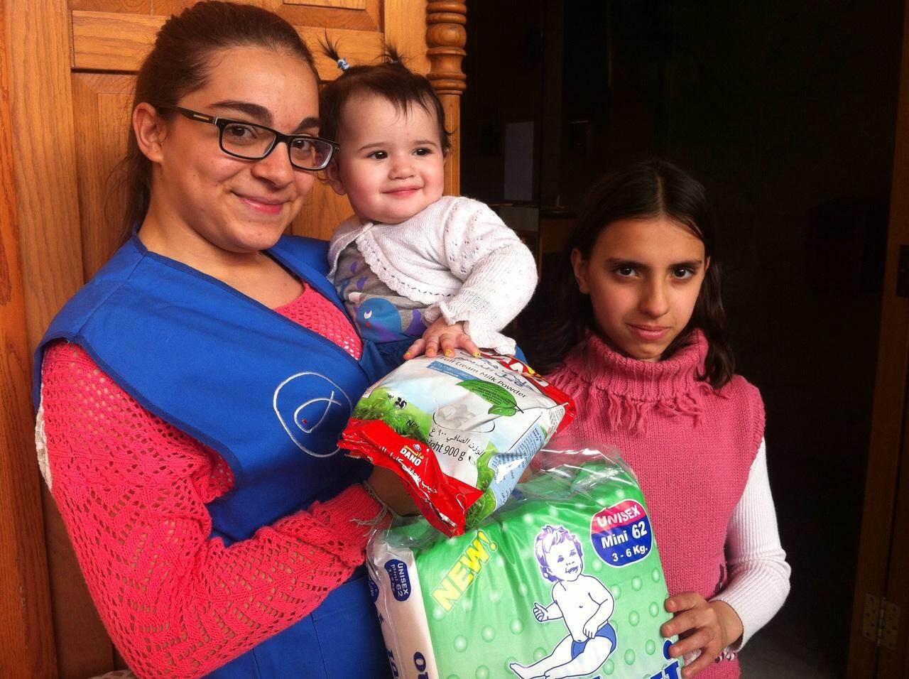 Líbano: assistência aos refugiados