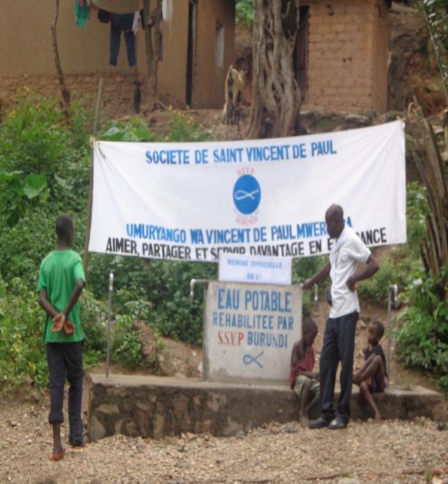 Burundi – reabilitação da rede de água potável