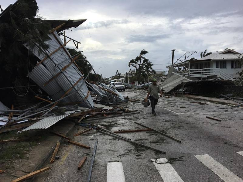 New Zealand : the  SSVP supports Tonga and Samoa Islands after Hurricane Gita.