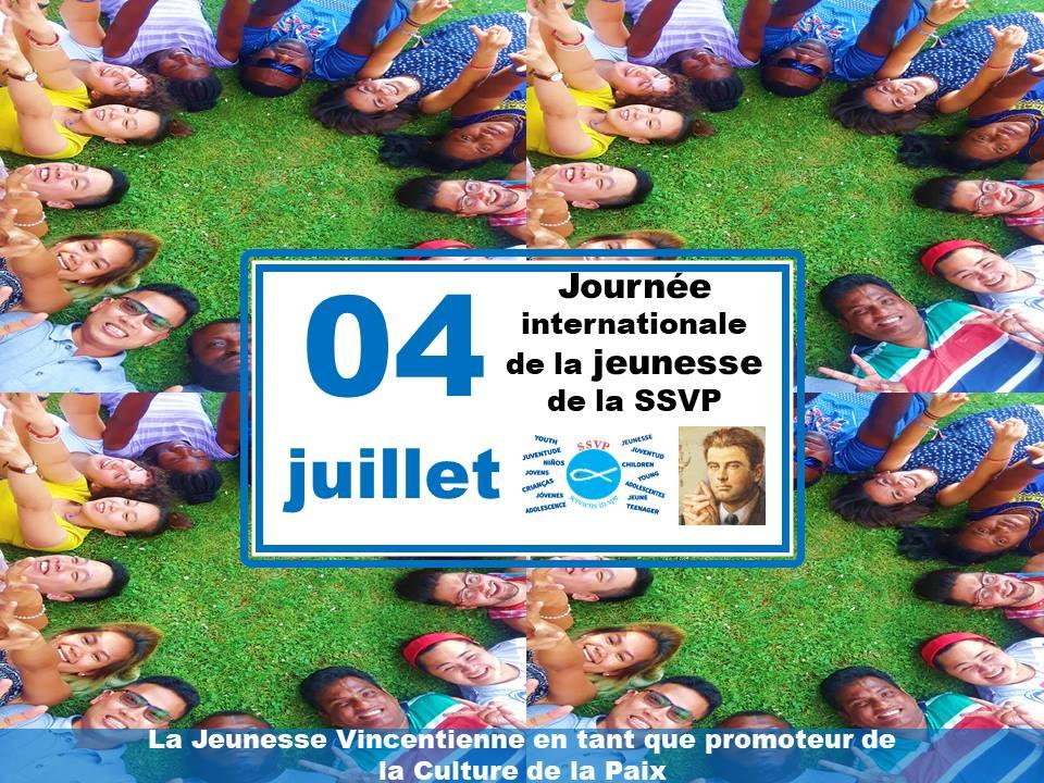 Le 4 juillet prochain, la Jeunesse Vincentienne de la SSVP célébrera sa Journée Internationale