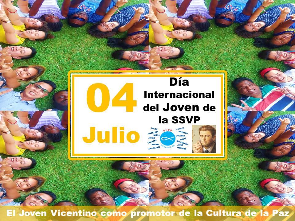 El próximo día 4 de julio, los Jóvenes Vicentinos de la SSVP celebrarán su Día Internacional