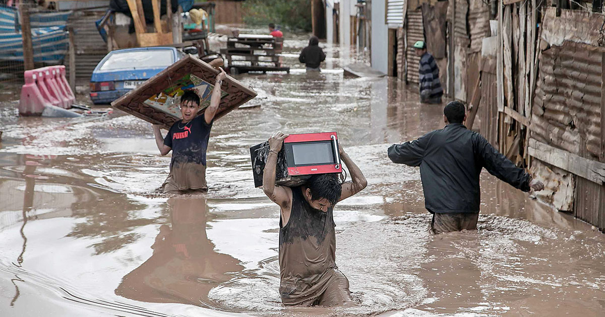 Peru, emergency aid for victims of flooding