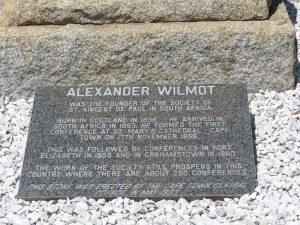 tombe Alexander Wilmot