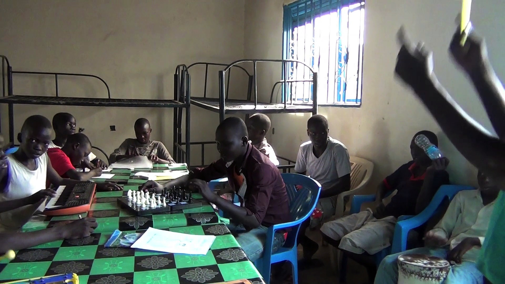 A vocational training programme in South Sudan