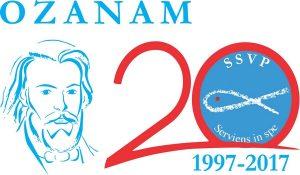 logo 20 ans Ozanam