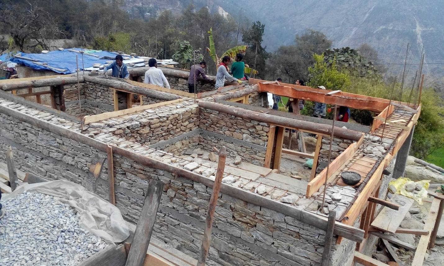 Nepal, 2 years after the deadly earthquake, the SSVP takes an active part in reconstruction