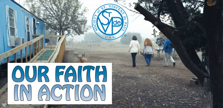 Our Faith in action. A new SSVP movie