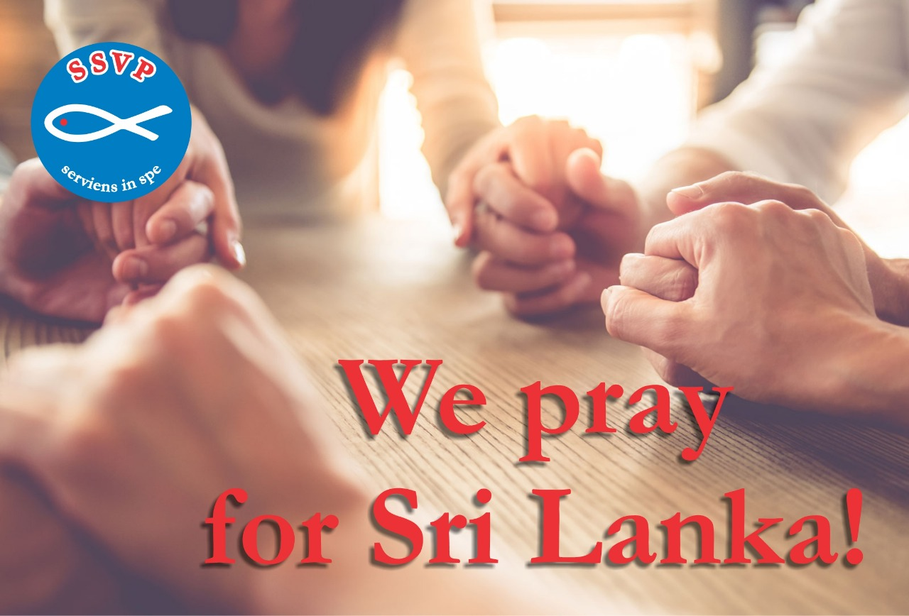 Solidarity and prayers for Sri Lanka