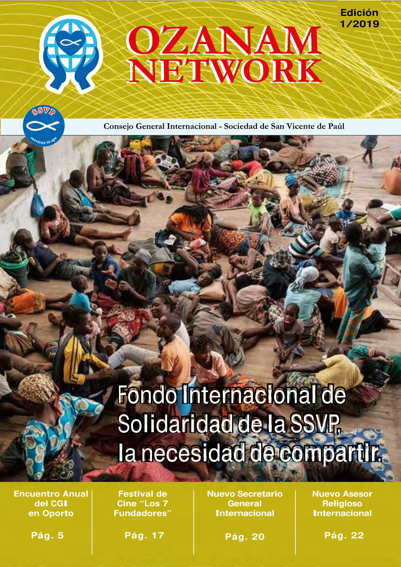Revista Internacional – Ozanam Network 01/2019