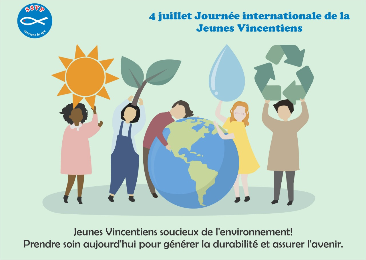 4 juillet 2019 Journée Internationale de la Jeunesse Vincentienne
