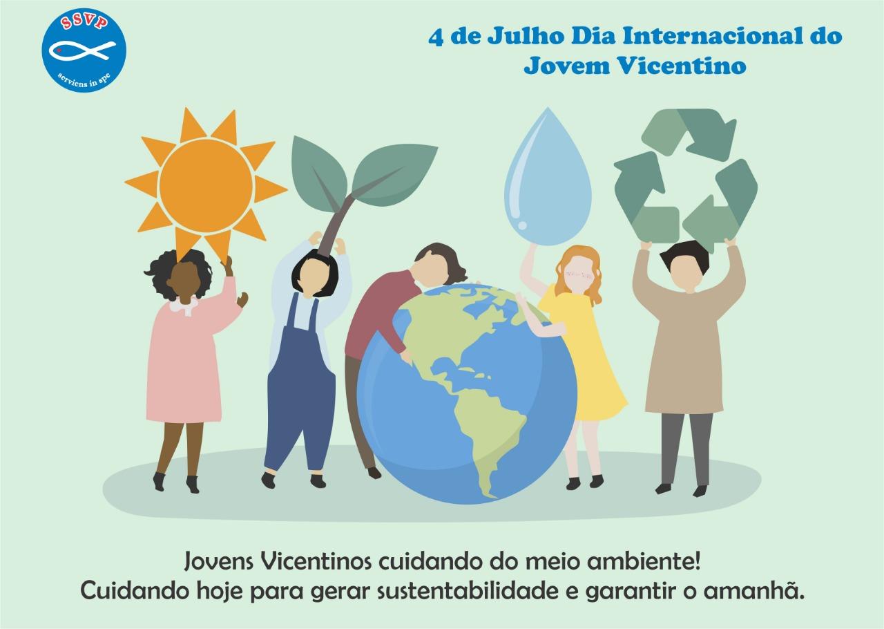 4 de Julho de 2019 Dia Internacional do Jovem Vicentino da SSVP