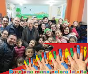 The Ozanam Center of Sant'Antimo welcomes many young people in difficulty.