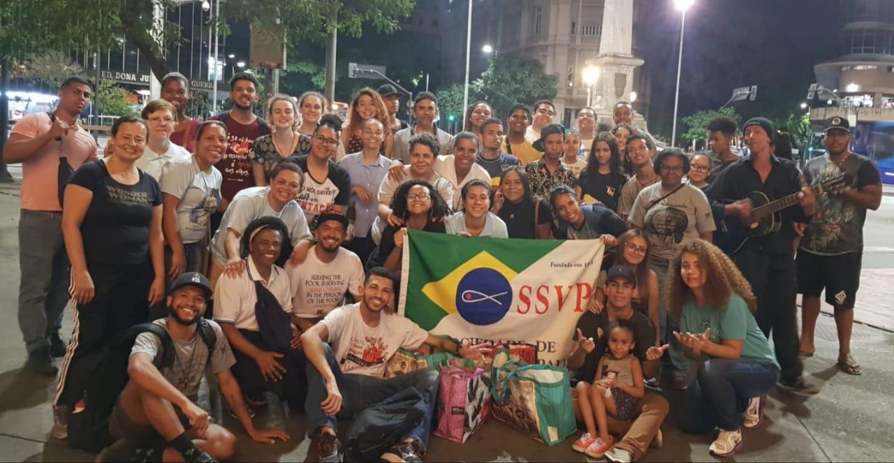 COVID19. Brasil. Jovens vicentinos compartilham Caridade e Esperança