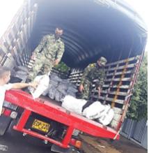 Covid19. Colômbia. Mais de 1.100 famílias atendidas devido à pandemia